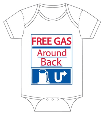 Free Gas Around Back