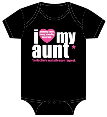I Love My Aunt - Pink